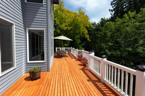 wood deck designers